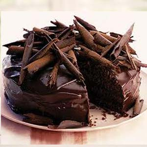 Ultimate Choco Cake: Anniversary cakes Shimla,  India