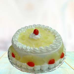1 Lb Pineapple Cake: Birthday Jhansi,  India