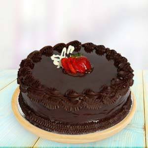 1lb Chocolate Cake: Birthday Kapurthala,  India