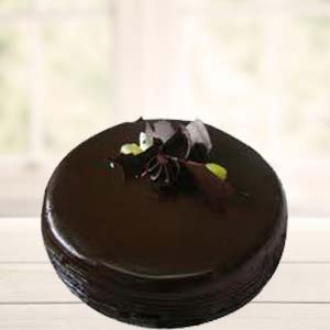 1 Lb Pure Chocolate Cake: Cakes Chennai,  India