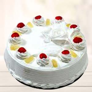 Pineapple Cake: Anniversary gift ideas Ambala Cantt,  India