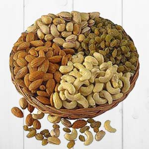Dry Fruit Basket Big: Dry fruits Rohtak,  India