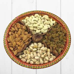 Dry Fruit Thali: Diwali Gifts Sangli,  India