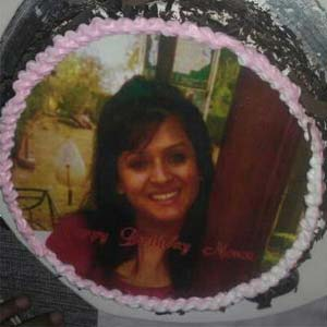 Photo Cake 1kg: Birthday Kochi,  India