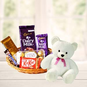 Teddy Combo: Valentine Gifts For Wife Latur,  India