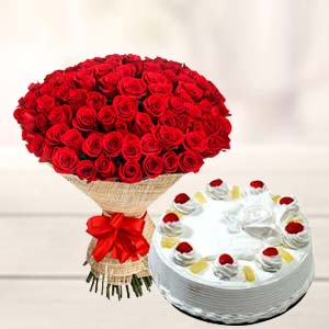 50 Rose Combo: Karwa Chauth Gifts Bikaner (rj),  India