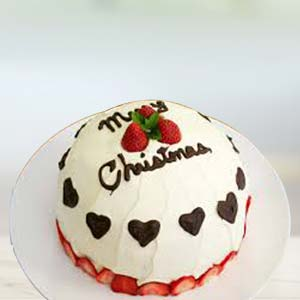 A Special Xmas Cake: Christmas Delhi,  India