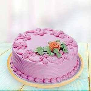 Strawberry Cake: Birthday Imphal,  India