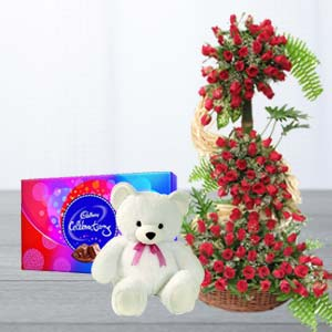 BEAUTIFUL GIFT HAMPER: Rose Day Solapur,  India