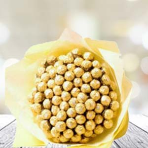 60 Ferrero Rocher In Bunch: Unique anniversary gifts Jamshedpur,  India