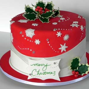 Red Velvet Cake: Christmas Nasik,  India