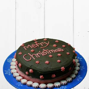Christmas Chocolate Cake: Christmas Delhi,  India