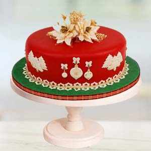 Special Red Velvet Cake: Christmas Mumbai,  India