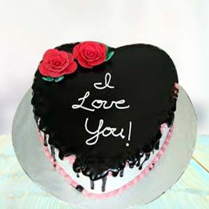 I LOVE YOU CHOCOLATE CAKE: Anniversary cakes Hooghly,  India