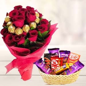 Valentine Chocolate Bouquet: Birthday Imphal,  India