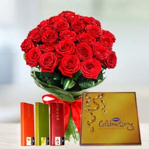 Cadbury Chocolates Combo: Valentine Gifts For Wife Dehradun,  India
