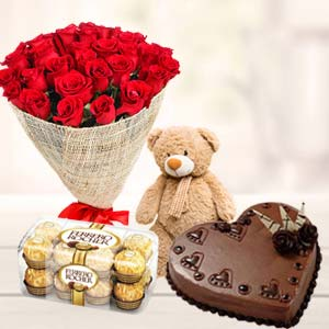Combo For Valentines: Valentine's Day Gifts For Her Mumbai,  India