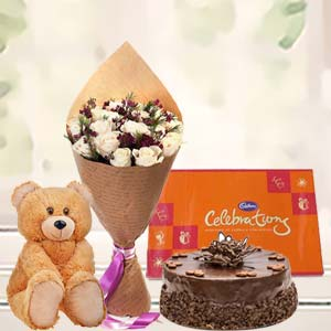 Beautiful Combo For Valentine: Gift Ambala Cantt,  India