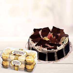 Cake & Chocolates: 1st birthday gifts Bilaspur,  India
