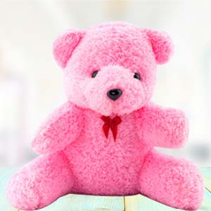 1 Feet Pink Teddy: Kids birthday Ajmer,  India