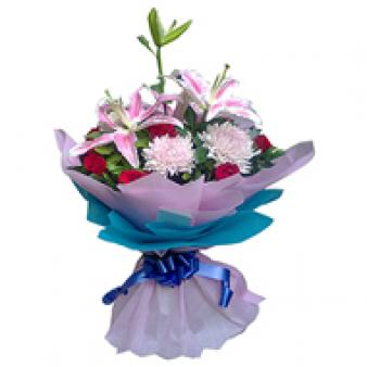 Mix Flowers: Birthday Sirsa,  India