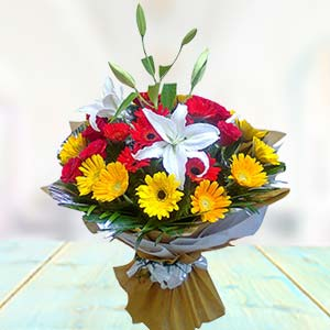 Exclusive Mix Flowers: Anniversary flowers Gwalior,  India