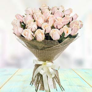 Bouquet Of White Roses: Congratulations Mathura,  India