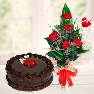 Best Flowers Combo: Gifts For Him Ghaziabad,  India