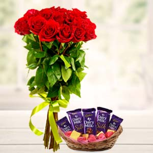 Best Chocolates Combo: Karwa Chauth Gifts Faizabad,  India