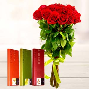 Best Roses Combo: Valentine's Day Gifts For Girlfriend Haldwani,  India