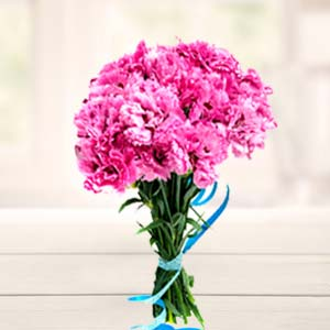 Carnations Bunch: Birthday Sirsa,  India
