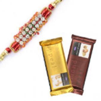 Rakhi Chocolate Combo: Rakhi  India