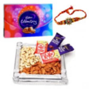 Chocolate Gift Hampers & Rakhi: Rakhi  India