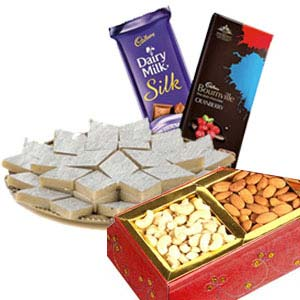Medium Dry Fruits Box Combo: 1st birthday gifts Bikaner (rj),  India
