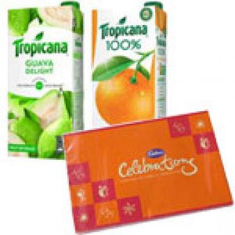 Tropicana Juice Celebration Combo: Gifts For Sister Agartala,  India