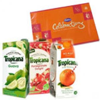Three Tropicana Juice Combos: Gifts For Her Nasik,  India