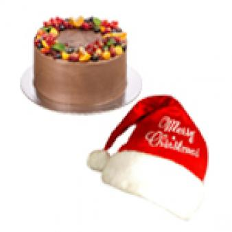 Chocolate Fruit Cake For Christmas: Christmas Mohali,  India