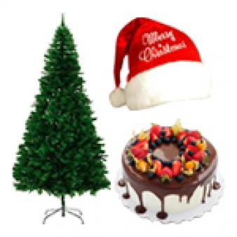 Christmas Gifts With Chocolate Cake: Christmas Guwahati,  India