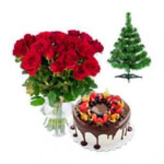 Christmas Gifts Combo Fruit Cake: Christmas Thiruvananthapuram,  India