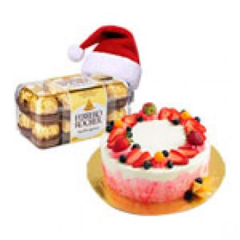 Xmas Fruit Cake Gifts: Christmas Shimla,  India