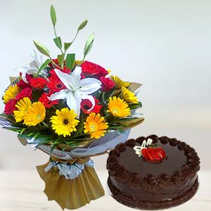 Mixed Gerbera Combo: Karwa Chauth Gifts Bilaspur,  India