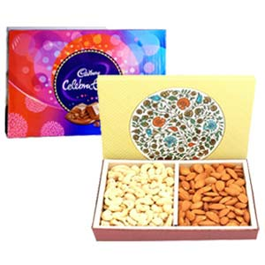 Dry Fruits With Celebration: Gifts For Sister Meerut,  India