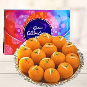 MotiChoor Ladoo With Celebration: Birthday Sonipat,  India