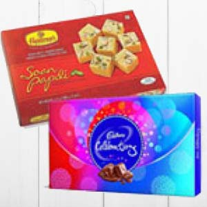 Haldiram With Chocolates: Gifts For Sister Latur,  India