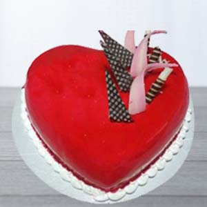 Red Velvert Cake: Rose Day Chandigarh,  India